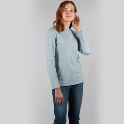 Schoffel Country Guernsey Scoop Top in Ice Grey