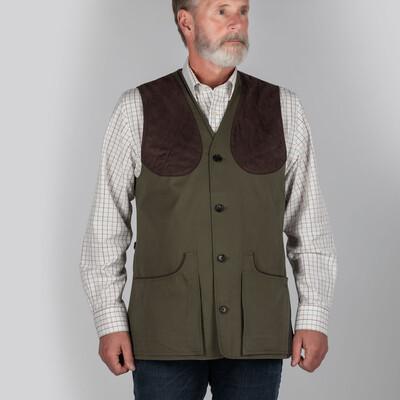 All Seasons Shooting Vest- Dark Olive
