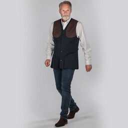 Schoffel Country All Seasons Shooting Vest- in Navy