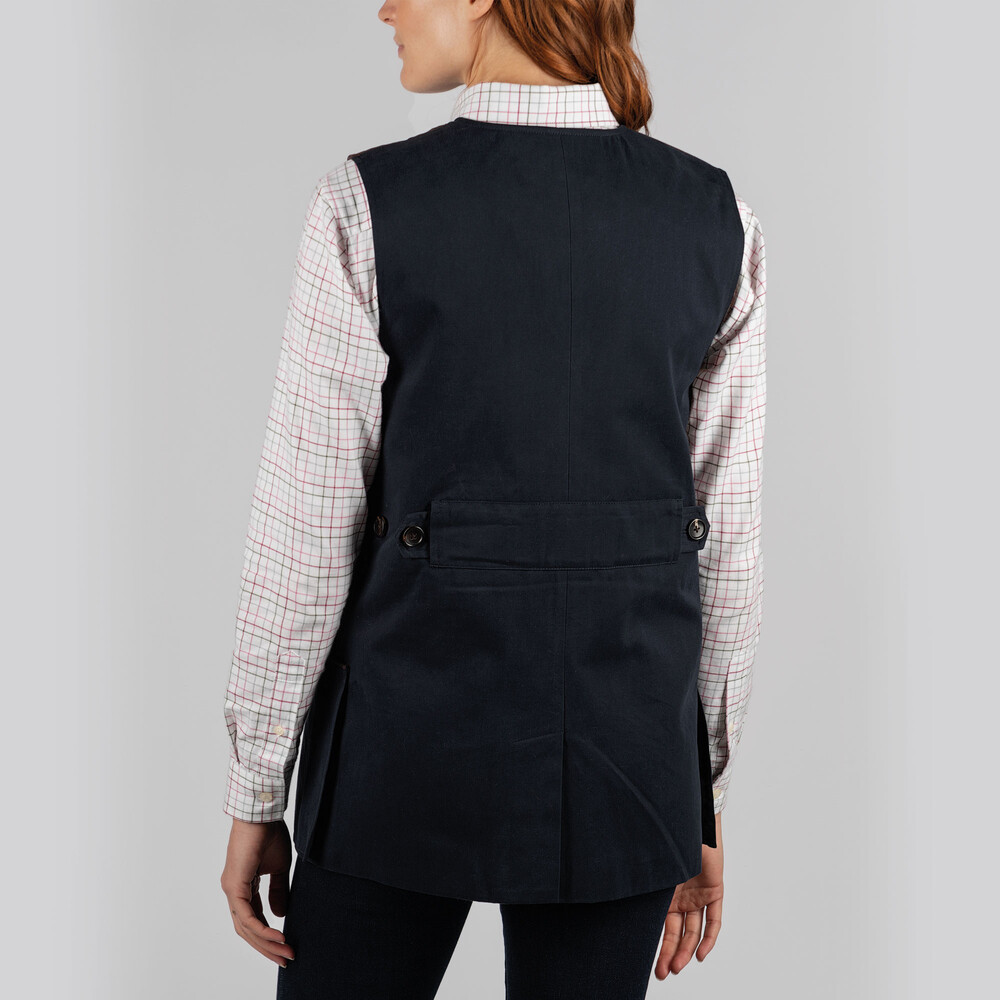 Ladies All Season Shooting Vest- Navy