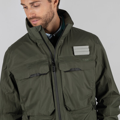 Mayfly Fly Fishing Jacket River Green