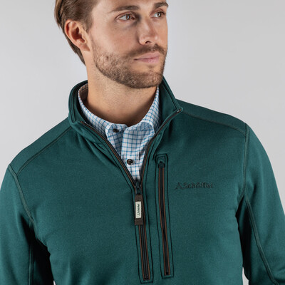 Annan Technical 1/4 Zip Kingfisher