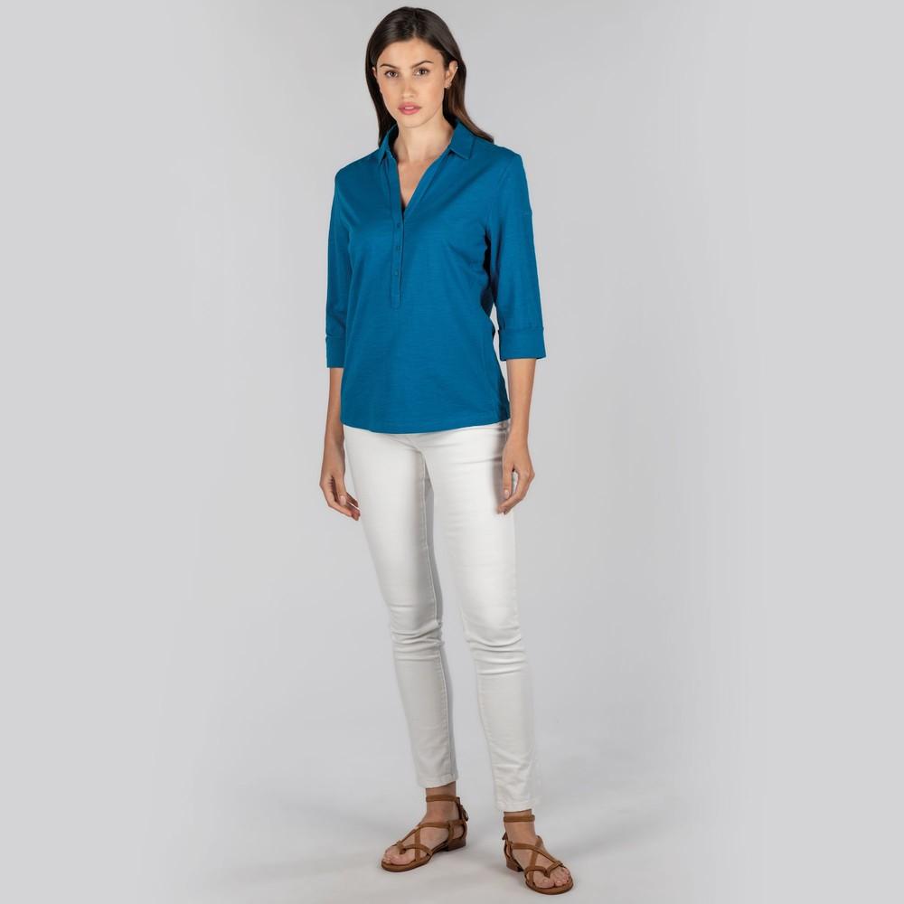 Mill Bay Shirt Mykonos Blue