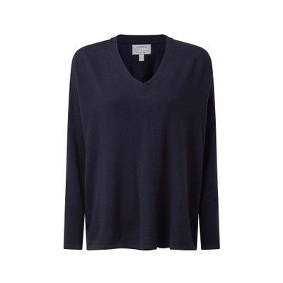 Devon Merino Jumper Navy