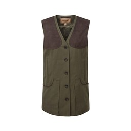 Schoffel Country Ladies All Season Shooting Vest- in Dark Olive