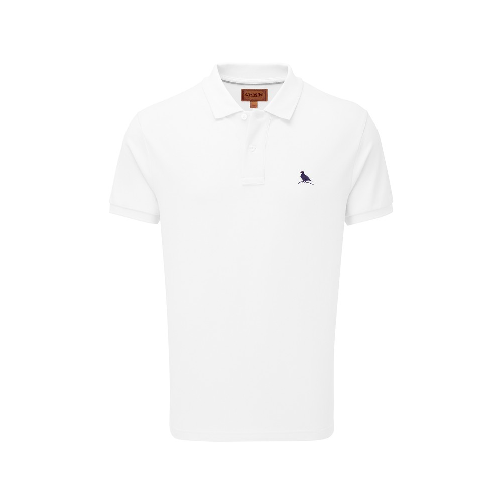 St Ives Tailored Polo Shirt White