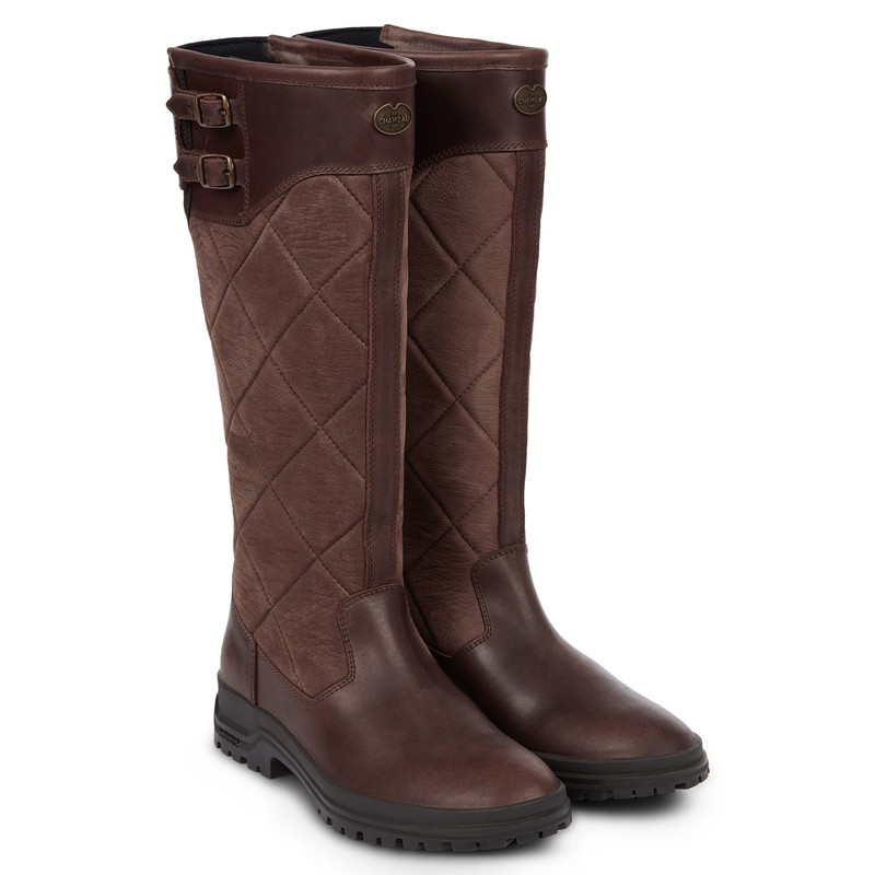 Jameson Women's Quilted Leather Boots