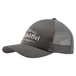 Schoffel Country Fly Fishing Trucker Cap in Charcoal
