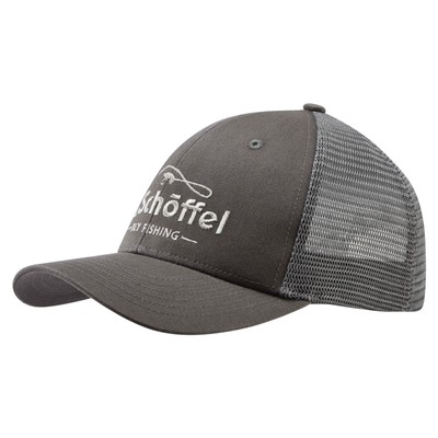 Fly Fishing Trucker Cap Charcoal