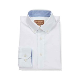 Schoffel Country Soft Oxford Tailored Shirt in White