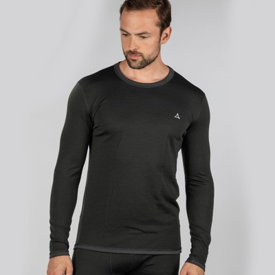 Technical Crew Neck Charcoal