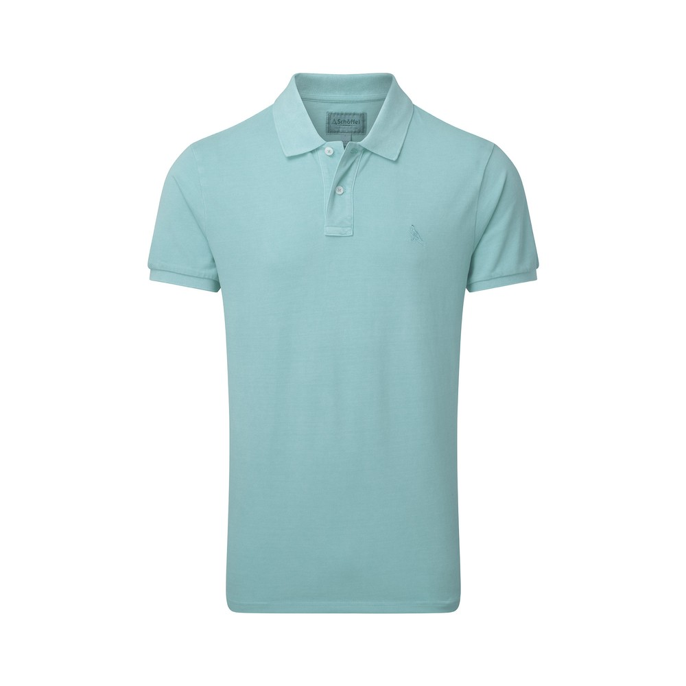St Ives Classic Polo Shirt Aqua