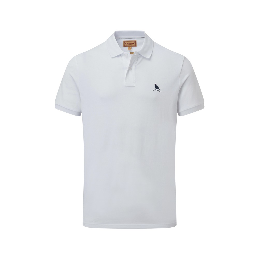 St Ives Classic Polo Shirt White
