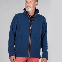 Schoffel Country Cottesmore Fleece Jacket in Cobalt Blue