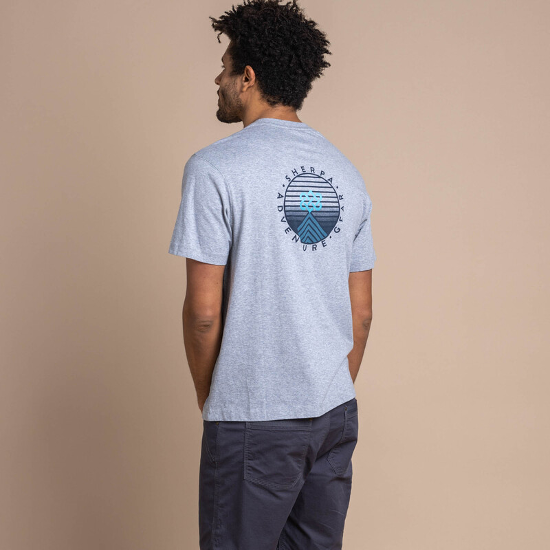Summit-T-Shirt - Heather Grey
