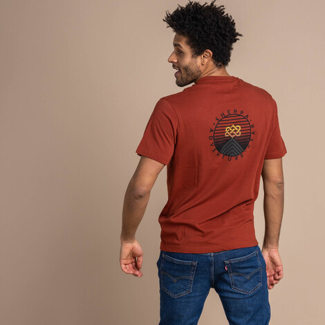 Summit Tee Clay Red