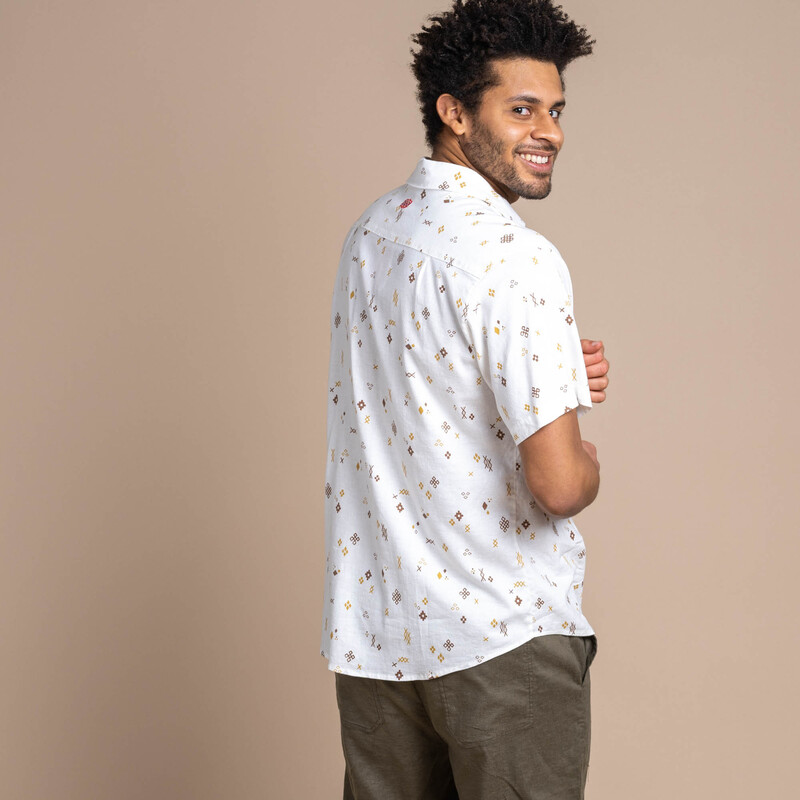 Kiran Short Sleeve Shirt - Peetho
