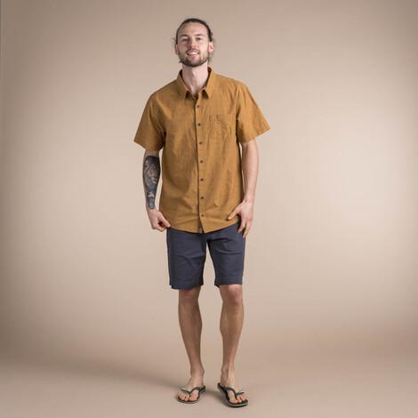 Sikeka Short Sleeve Shirt Daal Yellow