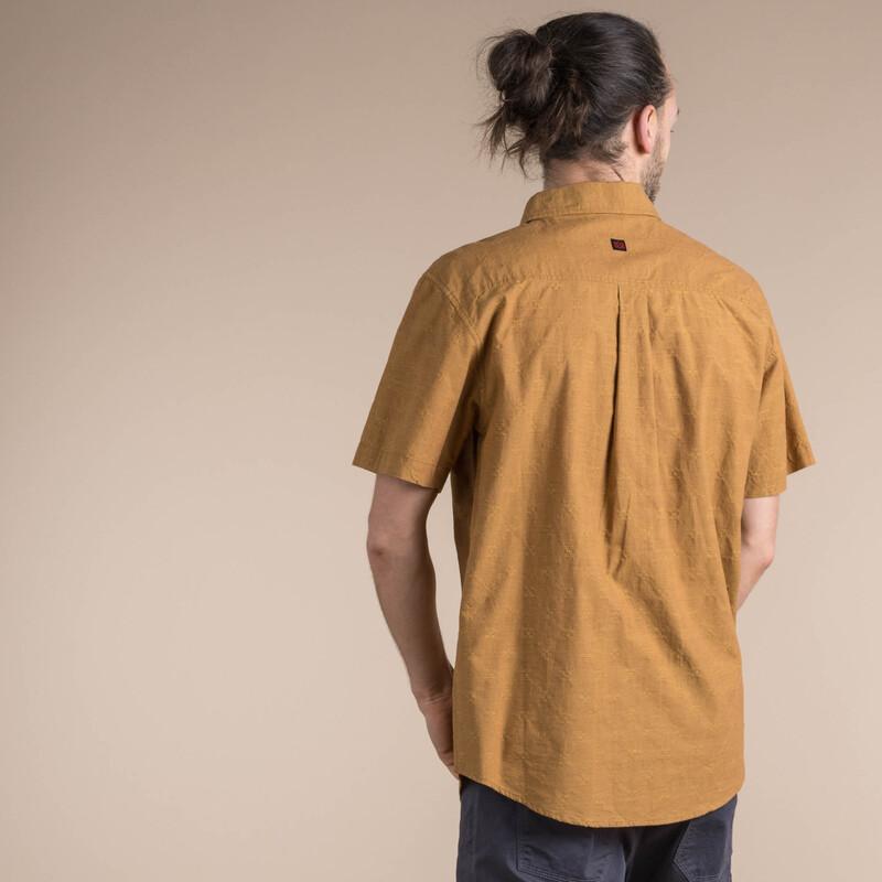 Sikeka Short Sleeve Shirt - Daal Yellow