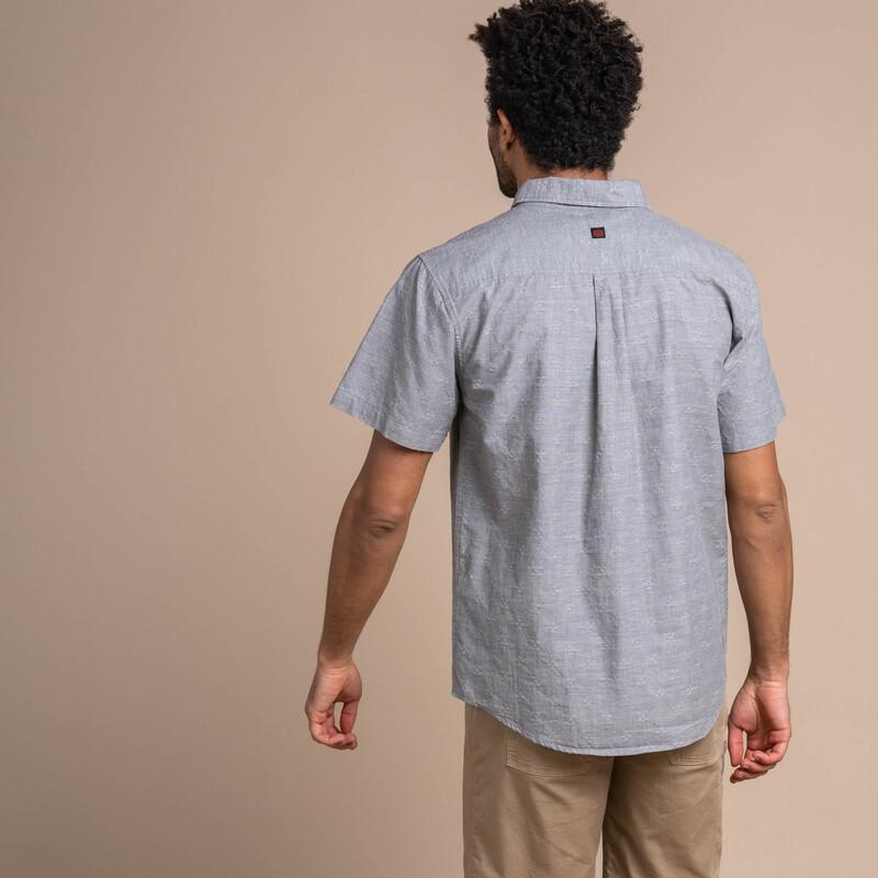 Sikeka Short Sleeve Shirt - Monsoon Grey