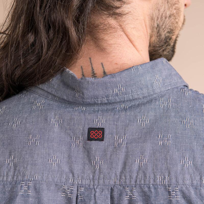 Sikeka Short Sleeve Shirt - Neelo Blue