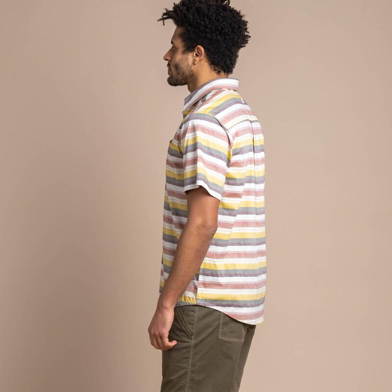 Khelnu Short Sleeve Shirt - Clay Red