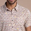 Doori Print Sleeve Shirt