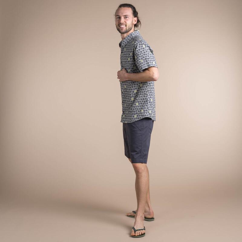Doori Print Sleeve Shirt - Kharani