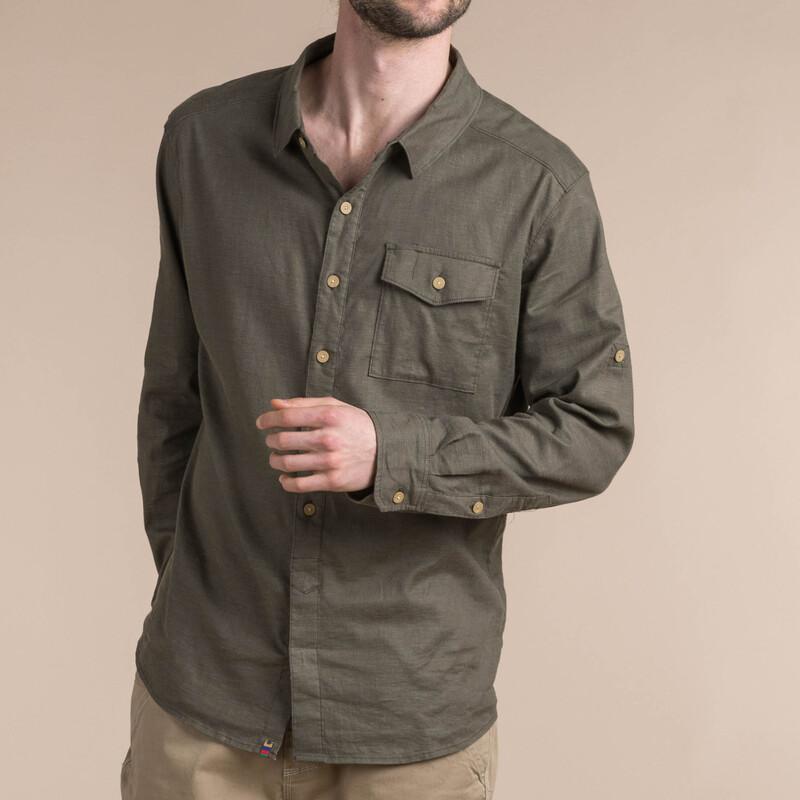 Kiran Long Sleeve Shirt - Tamur River
