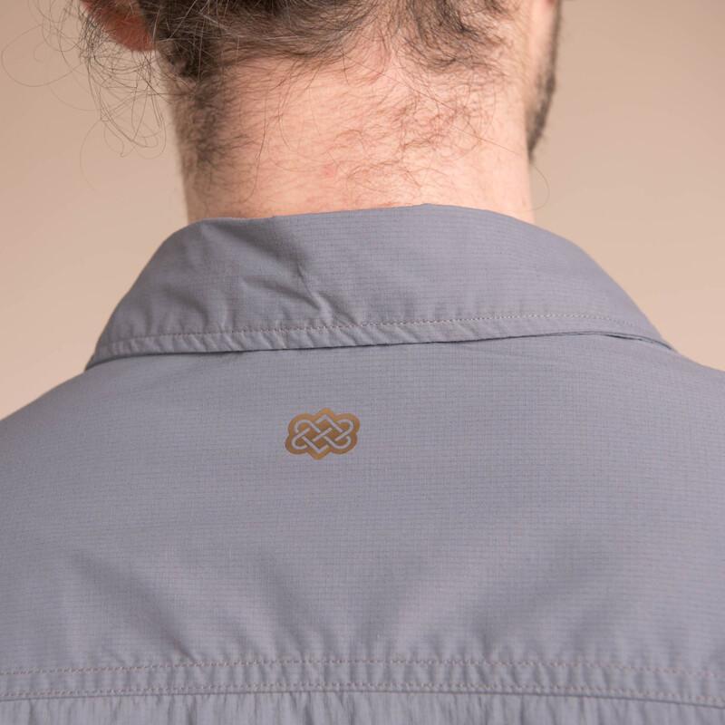 "Langärmeliges Hemd ""Ravi"" - Monsoon Grey"