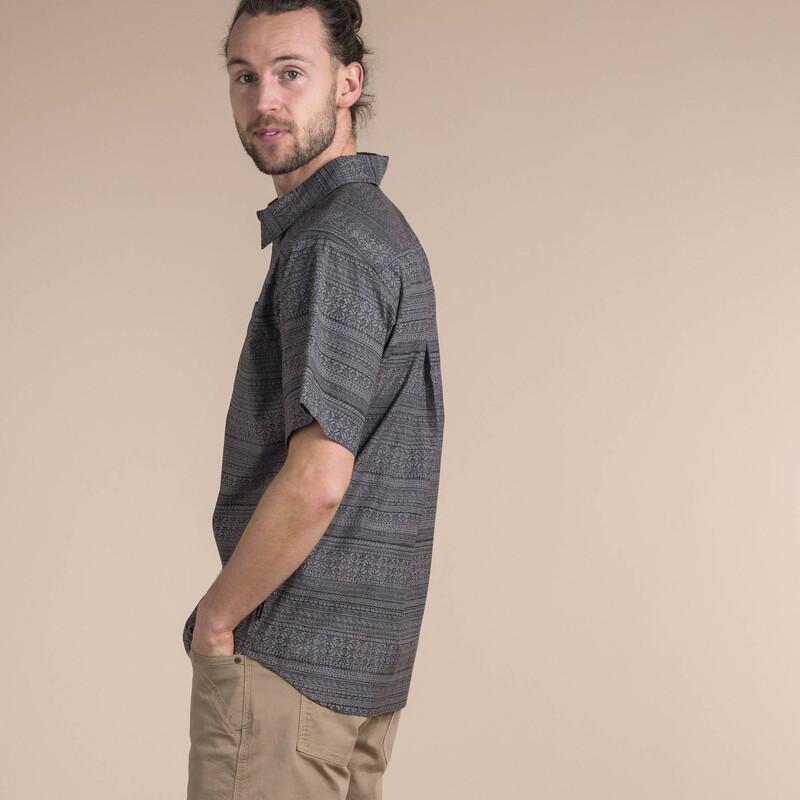 Durbar Short Sleeve Shirt - Monsoon Grey