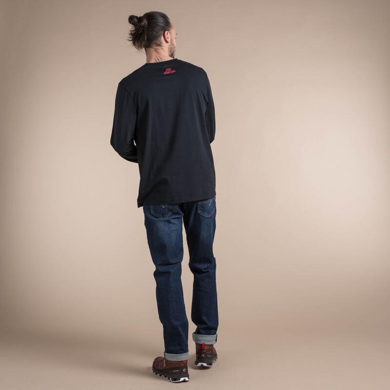 Tarcho Long Sleeve Tee - Black
