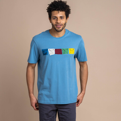 Sherpa Adventure Gear Tarcho Tee in Slate Blue