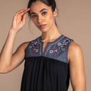 Shaanti Embroidery Top