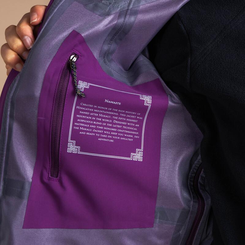 Makalu Jacket - Aaru Plum
