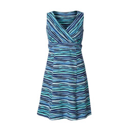 Royal Robbins All Around Dress in Turkish Sea Sketch Print