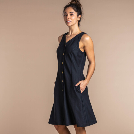 Kiran Dress Black