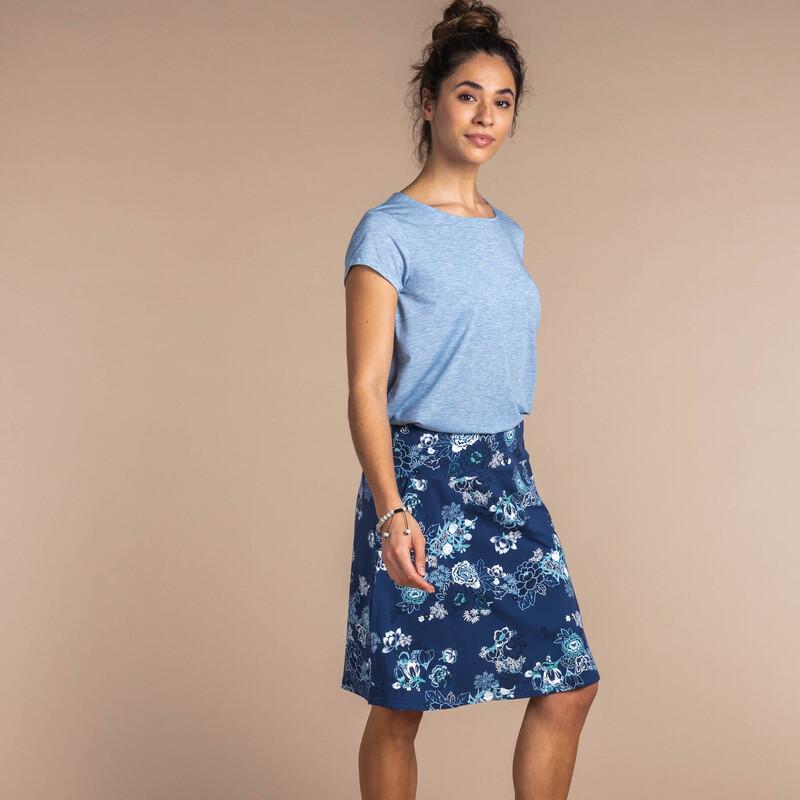 Padma Pull-On Skirt - Neelo Print