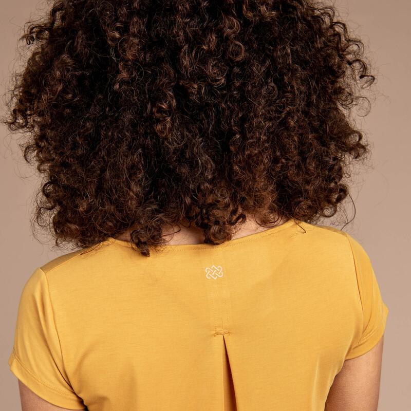 Asha Short Sleeve Tee - Daal Yellow