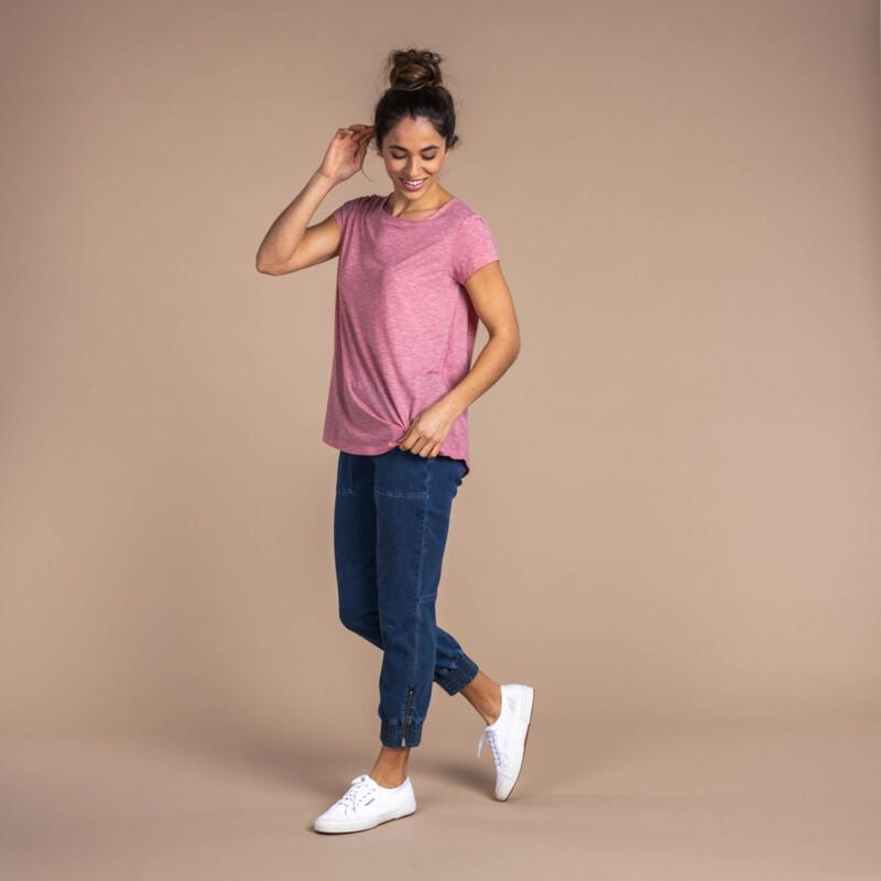 Asha Short Sleeve Tee - Golbera