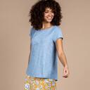 Kurzärmeliges Asha-T-Shirt