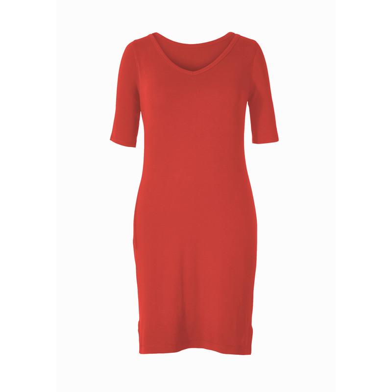 Kickback To Front Dress