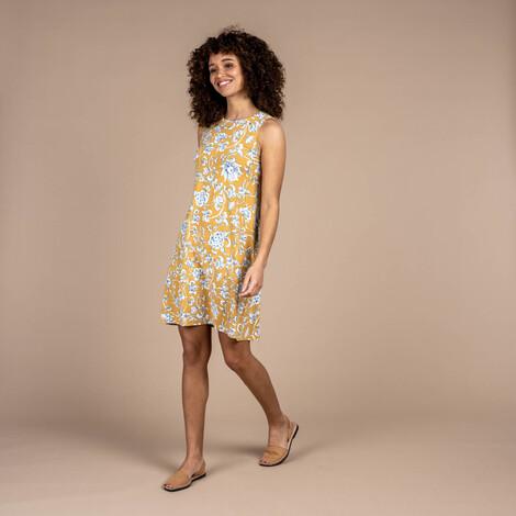Padma Dress Daal Yellow