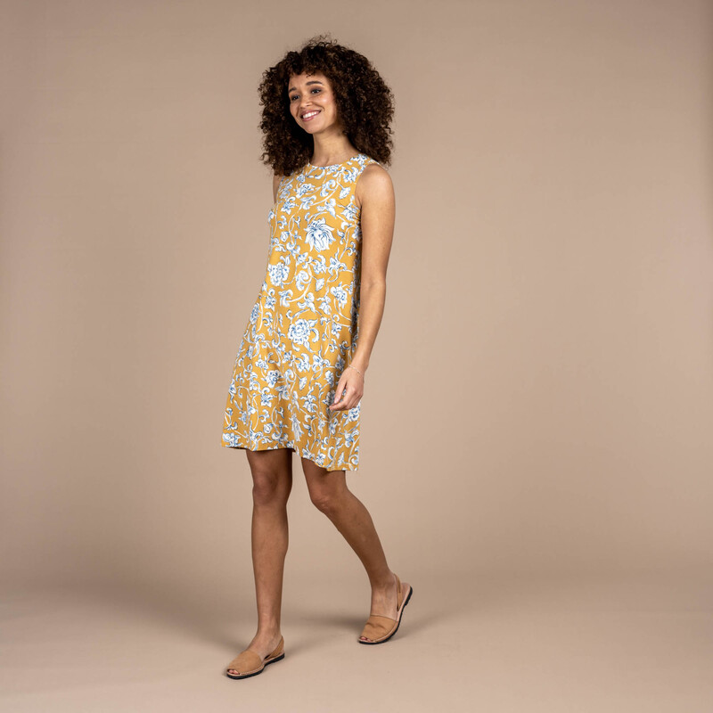 Padma Dress - Daal Yellow