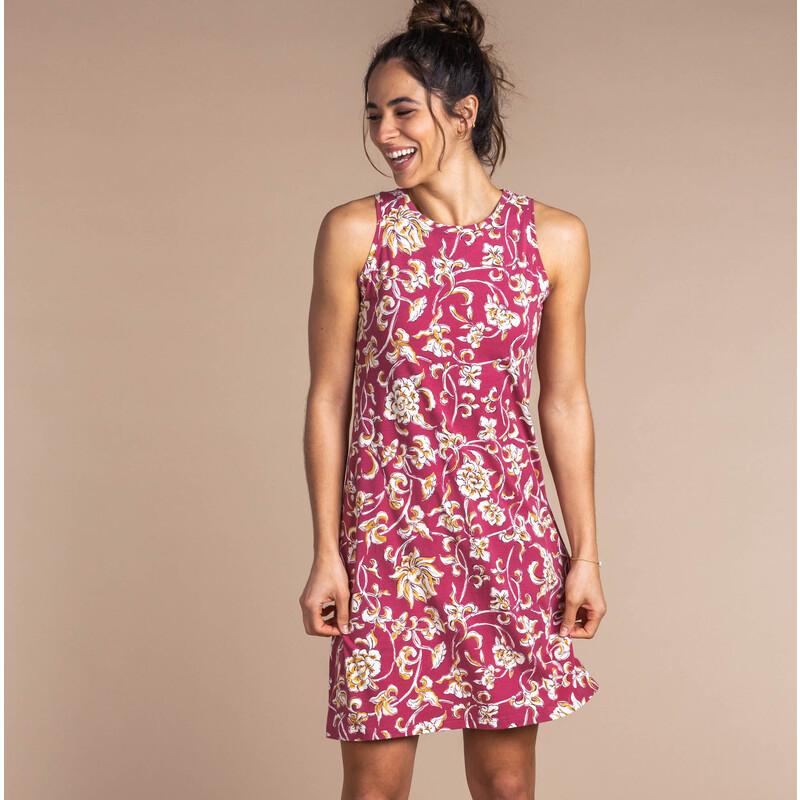 Padma Dress - Rosewood