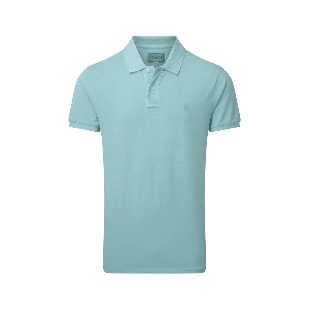 St Ives Tailored Polo Shirt Aqua