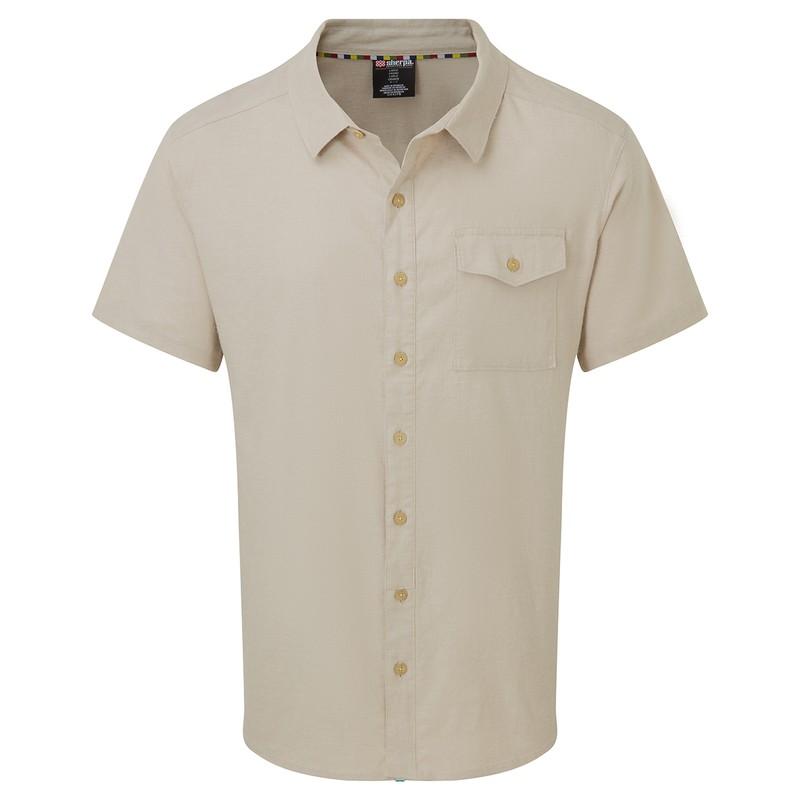 Kiran Short Sleeve Shirt - Goa Sand