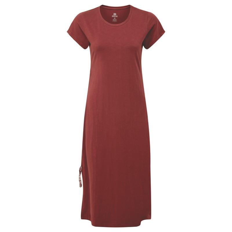 Shaanti Dress - Ganden Red