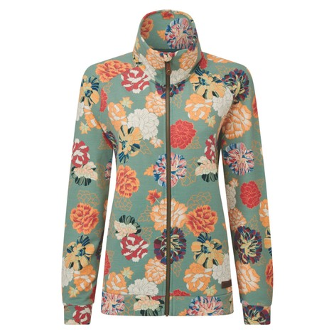Zehma Full Zip Jacket Mechi Print