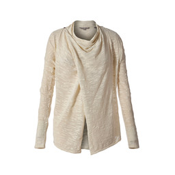 Royal Robbins Tupelo Slub Cardigan in Creme